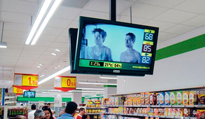 El digital signage influye en el proceso de compra del 55% de los consumidores