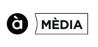 Logotipo de À Punt Mèdia, el grupo de medios de la Comunidad Valenciana.