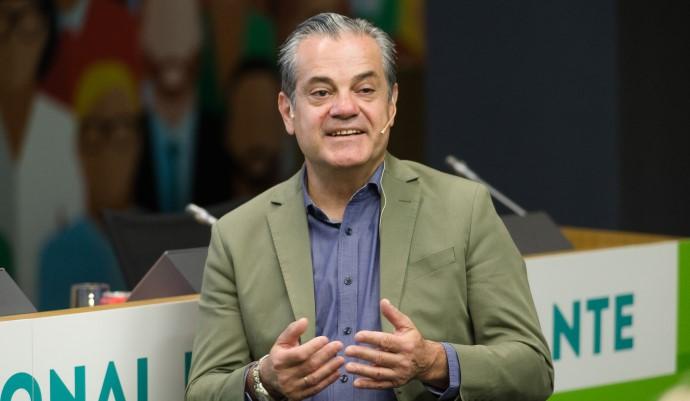 Marcos de Quinto, consejero del CEO de The Coca-Cola Company, durante el 13 Foro Profesional de la Asociación Española de Anunciantes.