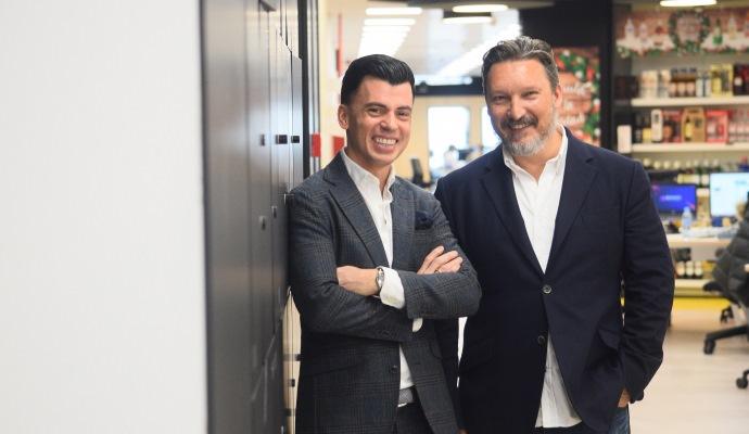 Paco Recuero, a la izquierda, y Pablo Muñoz, presidente y vicepresidente ejecutivo la BCMA Spain