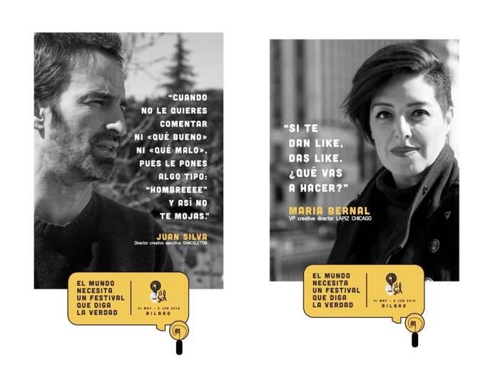Anuncios de la 33 edición del festival publicitario El Sol 2018.