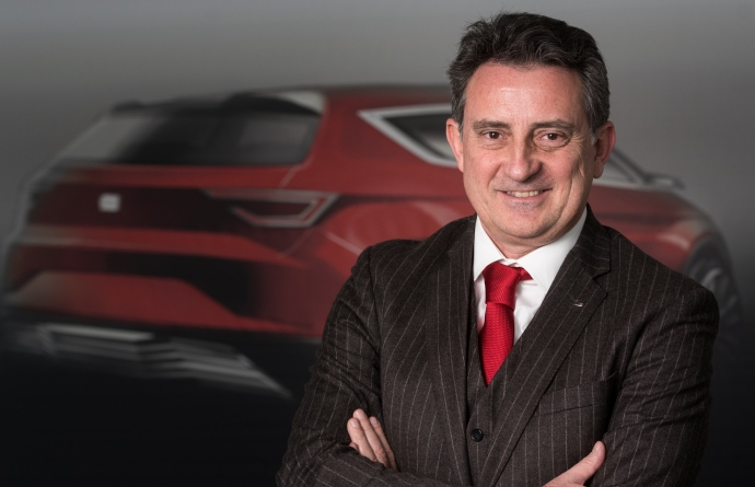 Fotografía de Gabriele Palma, director de marketing de SEAT España.
