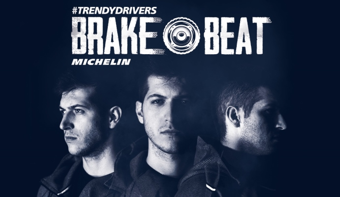 """La campaña publicitaria BrakeBeat de Michelín ayuda a los conductores a mantener la distancia de seguridad aplicando la regla de los """"tres segundos""""."""