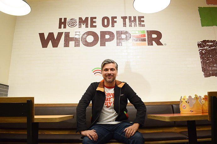 Fernando Machado, global chief marketing officer de Burger King, recibió a IPMARK para esta entrevista en el Burger King de Isaac Peral, 38 (Madrid).