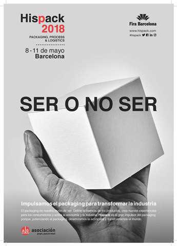 Nueva edición de Hispack en un momento en el que el packaging español ha recuperado el volumen de negocio previo al impacto de la crisis económica.