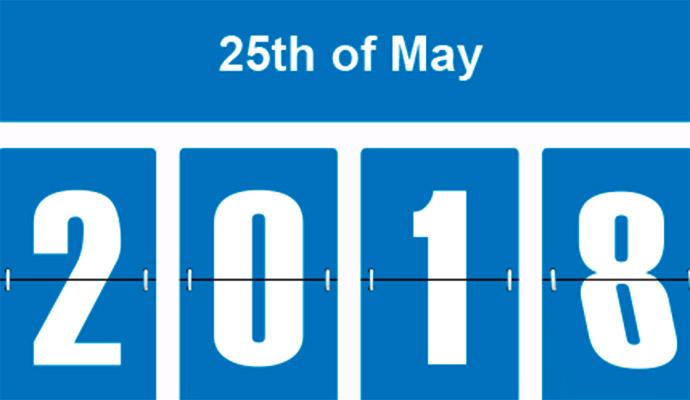 El 25 de mayo entre en vigor el obligado cumplimiento del Reglamenteo General de Protección de Datos.