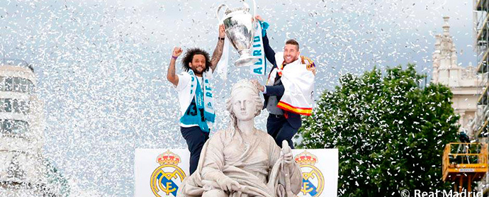 El impacto mediático de la final de la Champions League superó los 100 millones de euros, según los datos de Kantar Media.