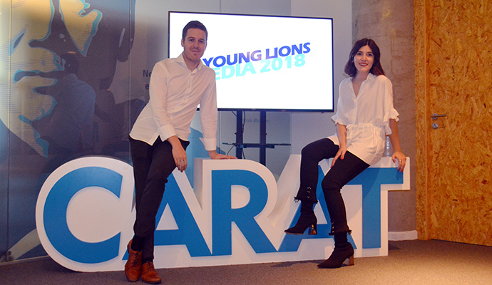 La pareja de Wink TTD representará a España en los Young Lions Media
