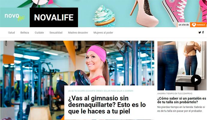 'Nova Life', nuevo portal temático de Atresmedia dedicado a la mujer