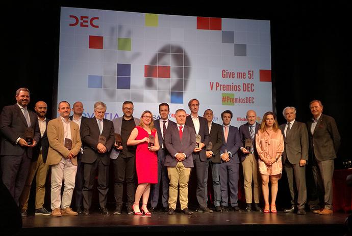 Quinta edición de los Premios DEC a la experiencia de cliente.