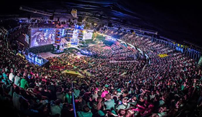Torneo de CSGO en Katowice, Polonia. Foto: ESL.