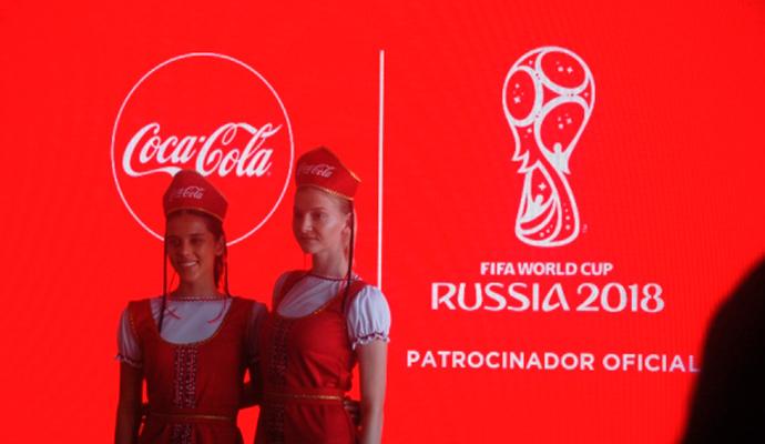 Coca-Cola, la marca patrocinadora más recordada del Mundial