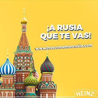 ¡Nos comemos Rusia!, la nueva campaña de Heinz