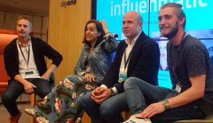 Entre los participantes en el Summit de marketing de influencers de Influenmatic estaban representantes de agencias. anunciantes y redes de influencers.
