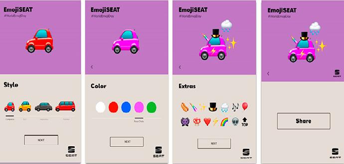Con motivo del Día Mundial del Emoji, SEAT ha lanzado la campaña EmojiSEAT.