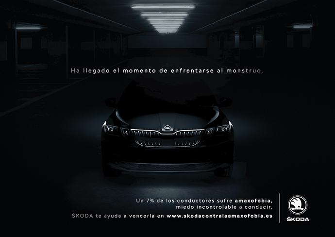 Imagen de la campaña de Škoda y Proximity Barcelona.