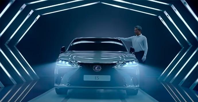 El anuncio de Lexus o cómo coquetea la IA con la publicidad
