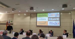 Bernardo Hernandez, inversor, durante su intervención en la presentación de las 100 marcas más valiosas del mundo.