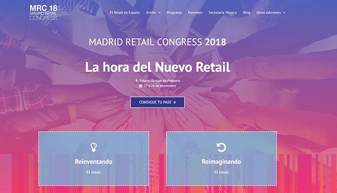 Madrid Retail Congress reunirá a más de 50 líderes del sector retail, pequeñas y medianas empresas y operadores de marketing retail.