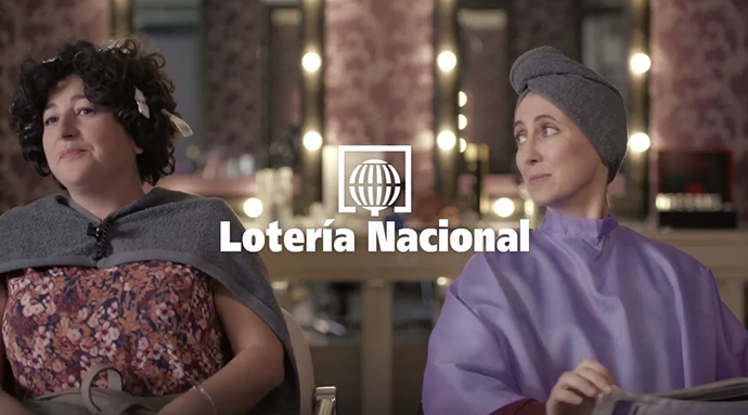 Imagen captada de la campaña de la Lotería Nacional de 2015 elaborada por Contrapunto BBDO.
