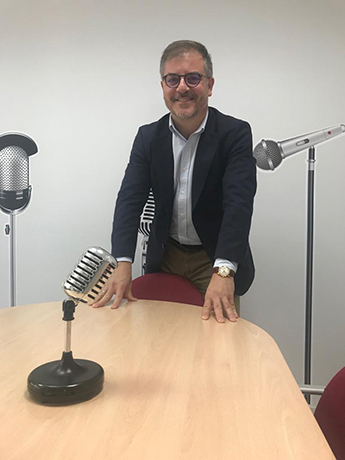Carlos Caminero, nuevo miembro de Taller de Radio.