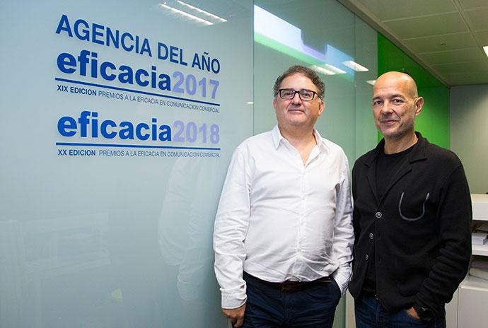 De izquierda a derecha, José María Rull y José María Roca de Viñals.