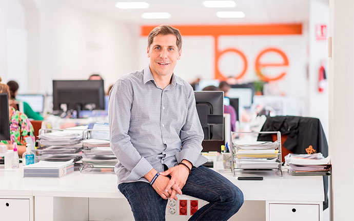 Dario Reggatieri, CEO del grupo de comunicación beon.Worldwide, entrevistado por la revista IPMARK