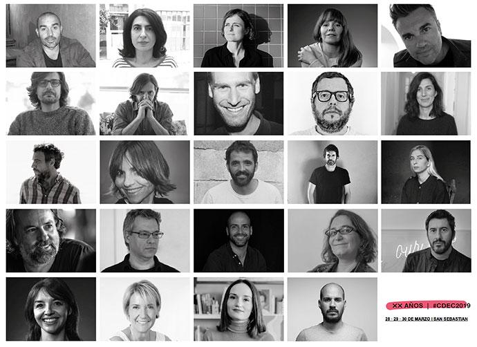 Integrantes del jurado de los Premios Nacionales de Creatividad 2019.