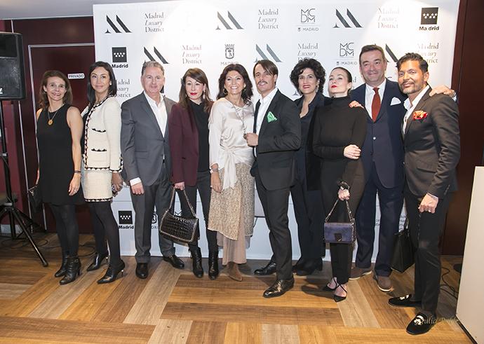 Daniel Nicols preside en el centro el acto de apertura de la asociación Madrid Luxury District (MLD).