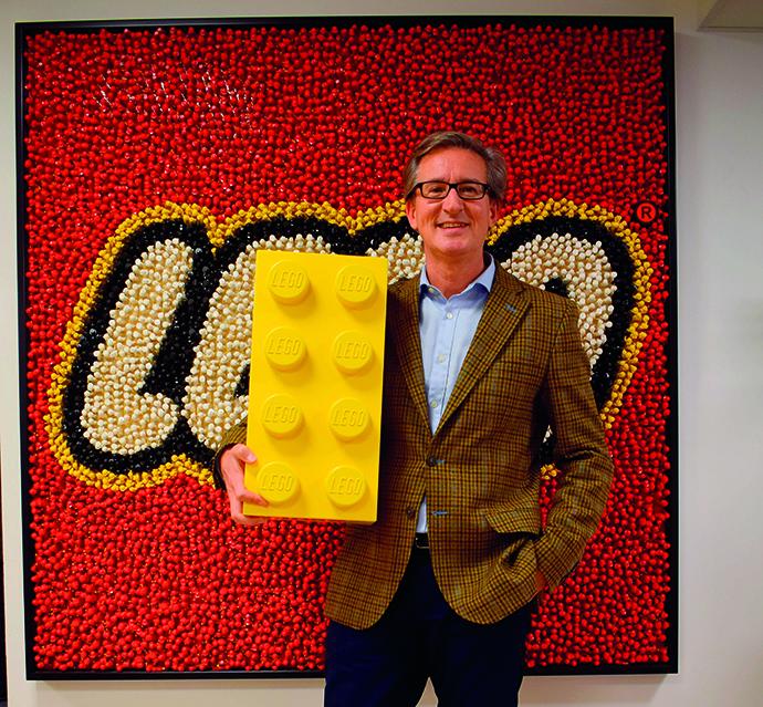 César Ridruejo, country manager de Lego Iberia, es el protagonista de la entrevista de IP MARK.