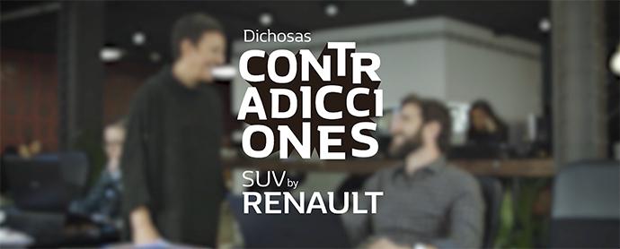 """Renault estrena el espacio """"Dichosas contradicciones"""", que en un tono de humor recorre las muchas contradicciones del comportamiento de la llamada Generación X."""