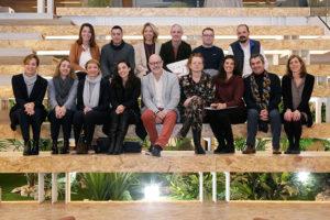 Foto de familia de los participantes en el coloquio IPMARK sobre los eventos en el mundo de la salud y la farmacia.