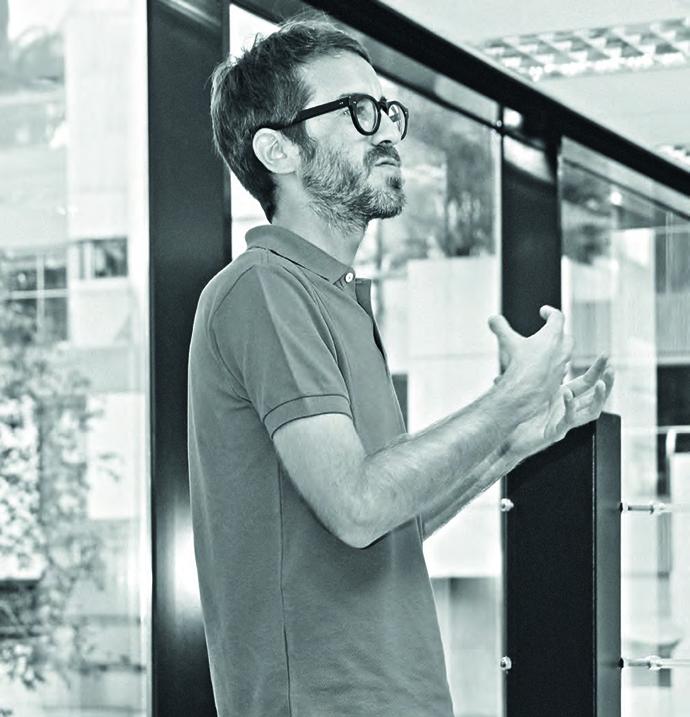 Ángel Torres, socio fundador y director creativo del El Ruso de Rocky.