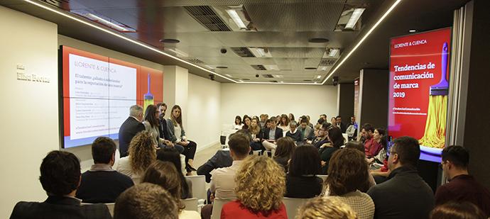 IV edición de 'Tendencias de comunicación de marca', organizada por Llorente & Cuenca.