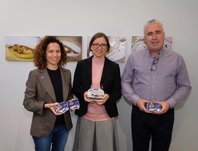 Laura Rodríguez, directora del programa MSC España, Michaela Reischl, directora de RSC de Lidl España, y Juan Yurrita, director gerente de Yurrita Group.