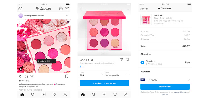 Instagram impulsa las compras sociales con 'Checkout on Instagram'