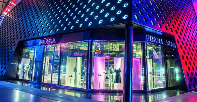 Espacios interactivos, inteligentes y sensoriales, que proporcionarán nuevas experiencias de compra a los clientes.