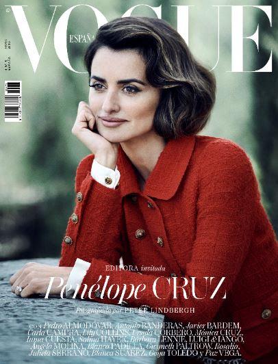 Vogue España ficha a Penélope Cruz como editora invitada en el número de abril