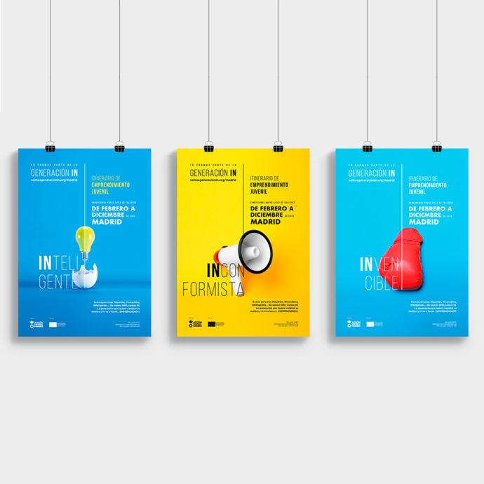 beon. crea el concepto 'Generación in' para Acción contra el Hambre
