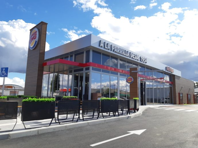 Brunete burger king