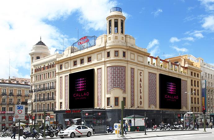 Nuevas pantallas digitales en Cines Callao, las más grandes de Europa