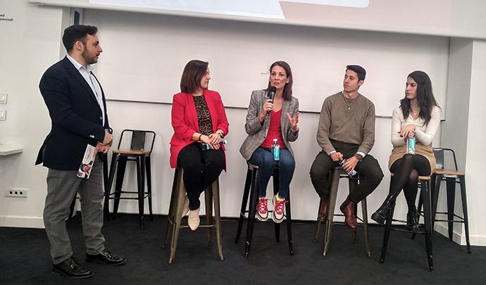 Ismael (SocialPubli.com), María Bretón (GroupM); Remedios Cervantes (XX),