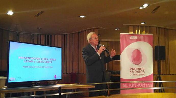 Víctor Conde, director general de la Asociación Española de Marketing, presenta la Lista Corta de los Premios Nacionales de Marketing 2019.
