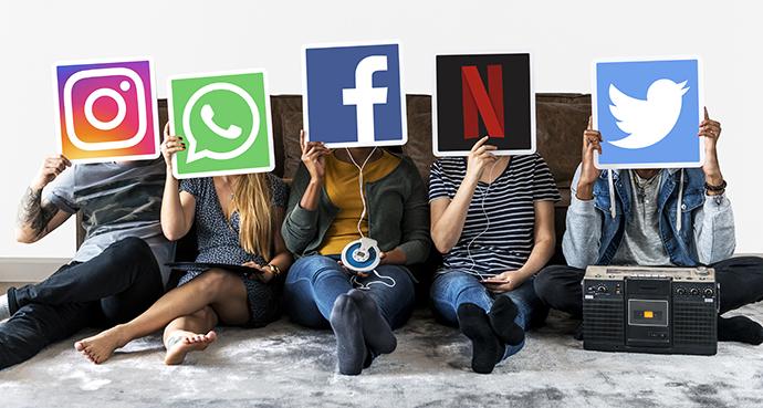 Internet ocupa la segunda posición, experimentando el mayor crecimiento (+12,2), con 162,6 millones.