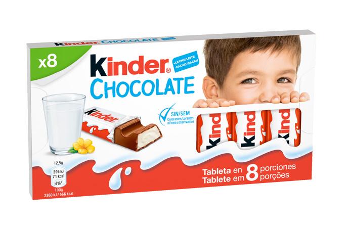 El niño de Kinder Chocolate se vuelve más agudo y atrevido