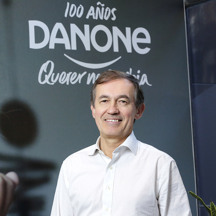 Jean Philippe Paré, CEO de Danone Iberia.