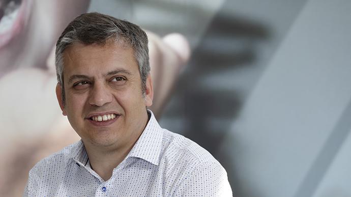 Carlos Bosch, director de medios de Danone España.