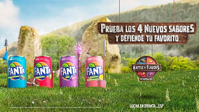 Fanta y McCann Madrid presentan una 'Batalla de sabores'