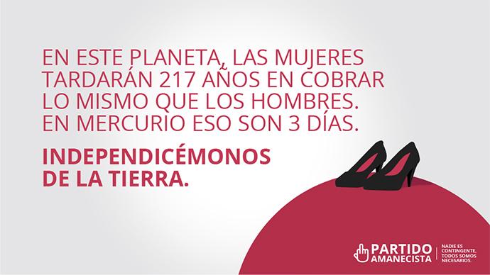 El Partido Amanecista, presentado por la plataforma de cine español, FlixOlé, y la agencia creativa Sra. Rushmore,