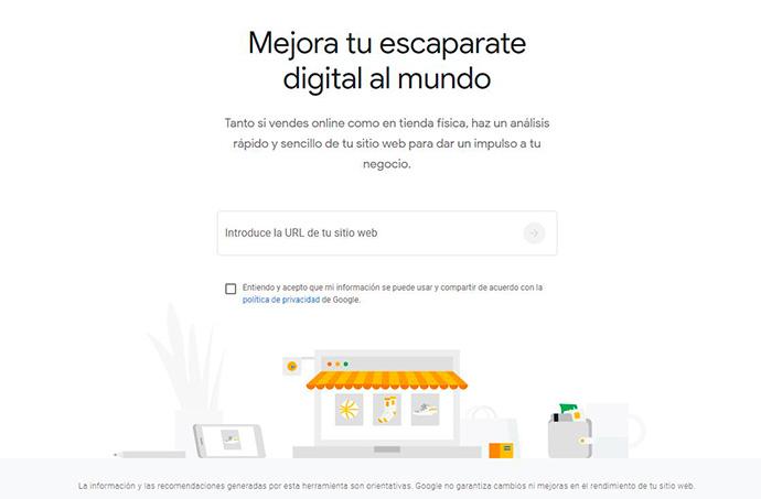 Así es Grow My Store, la herramienta de Google que analiza una tienda online
